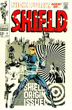 Jim Steranko brought Pop Art and a poster art-like quality to comic books in the 60's.  A true icon.