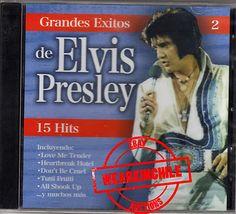 Elvis Presley Grandes Exitos Volume 1 & 2 made in Chile Heartbreak Hotel, Elvis Presley, Digital Camera, Chile, My Love, How To Make, Ebay, Chili, Digital Cameras