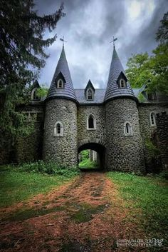 Ravenloft Castle in Upstate, New York.