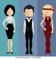 stock-vector-set-of-people-icons-in-flat-style-vector-women-men-character-232736602.jpg (446×470)