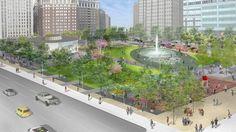 LOVE Park / JFK Plaza