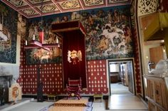 Scotland Castles, Scottish Castles, Stirling Castle, Royal Palace, Valance Curtains, Medieval, Wall Hangings, Awakening, Houses