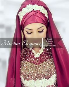 Bridal & Party #hijab Ready to wear thepurplesharepoint@gmail.com