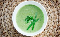 Creamy Scallion Soup | Gourmandelle.com | Vegetarian Blog
