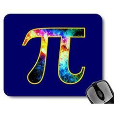 Pi Day Galaxy 3.14 Mousepad