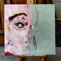 Female, Diy, Painting, Bricolage, Painting Art, Do It Yourself, Paintings, Painted Canvas, Homemade