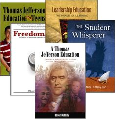 Scroll down for a listing of free pdfs and audios from A Thomas Jefferson Education!