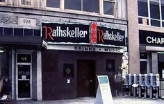 Boston's Kenmore Square, late 1970s. The Rathskeller.