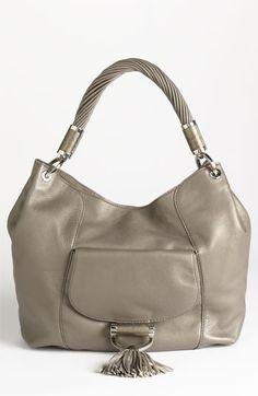 Michael Kors 'Tonne' Leather Shoulder Bag available at #Nordstrom