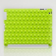 anis green iPad Case