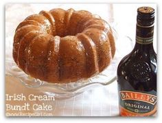 Bailey's Irish Creme Cake Recipe