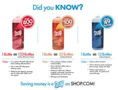 Save your #wallet and trust the products you are using in your home with SNAP Cleaning Supplies!