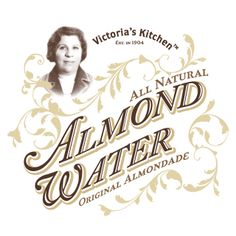 Victoria's Kitchen Almond Water on Packaging of the World - Creative Package Design Gallery