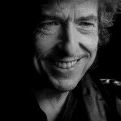 An unusually happy Bob.