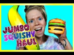 BIGGEST SQUISHIES EVER? JUMBO SQUISHY HAUL! RELAXING ASMR SLOW RISING SQUISHIES! - YouTube