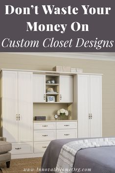 Here are the 5 myth about custom closet you NEED to know so you don't waste anymore money than you have to! Check it out here | Innovate Home Org | Custom Closets Columbus | Dublin Closets | Organization Closet System | #CustomClosets #OrganizationSystem #ColumbusClosets Custom Closet Design, Custom Closets, Wardrobe Design, Closet Designs, Cool Shelves, Storage Shelves, Shelving, Innovation, Cheap Closet