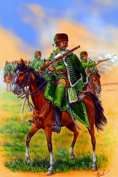 Prussian 1st Hussar Regiment on the battlefield, Seven Years War