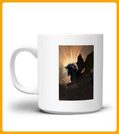 Beautiful dark unicorn Mug - Einhorn shirts (*Partner-Link)