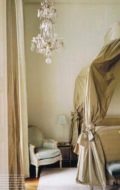 Australian Nikki Parker's Paris apartment in the Place des Vosges decorated by Jacques Grange