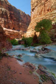 ✯ Beaver Falls - AZ - Grand Canyon National Park