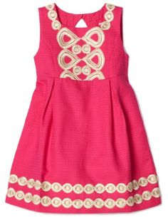 of course I pick out the Lily Pulitzer dress at first glance {precious pink}