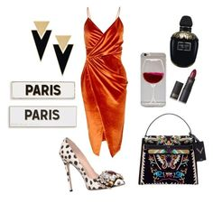 """Paris Fashion Week👌"" by sonthia on Polyvore featuring Boohoo, GEDEBE, Lipstick Queen, Yves Saint Laurent, Alexander McQueen and Rosanna"