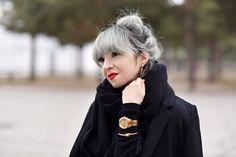 portrait Jeans, Brooch, Portrait, Hair, Fashion, Ribbon Work, Hair Colors, Amazing, Hair Makeup