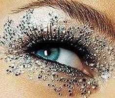 #sparkle make-up