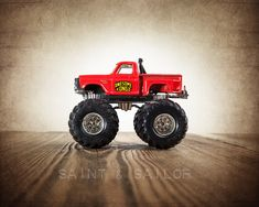 Vintage Monster Truck Awesome Kong Photo Print  by shawnstpeter