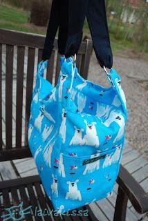 An insulated cooler bag