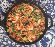 Jambalaya from Deep South Creole Recipes, Cajun Recipes, Seafood Recipes, Dinner Recipes, Southern Cooking Recipes, Cajun Cooking, Southern Meals, Cajun Food, Southern Side Dishes