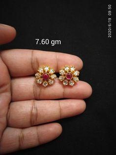 Gold Jewelry Simple, Silver Jewelry, Mehndi Designs 2018, Ear Rings, Wedding Jewelry, Jewelry Collection, Jewelery, Stud Earrings, Blouse