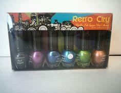 KLEANCOLOR Nail Lacquer Mini Collection Retro City Metallic Colors  #Kleancolor