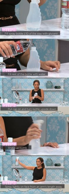 DIY Makeup Setting Spray http://makeupit.com/m0KZF | Finding Contouring Difficult? Look No Further!