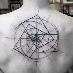 unique Geometric Tattoo - Beautiful Blackwork Tattoos By Frank Carrilho | Designwrld