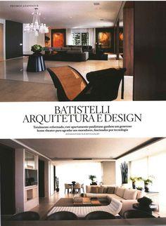 Tapete da by Kamy presente no ambiente da Batistelli Arquitetura e Design, Revista Casa Vogue - jan 2016 (pág. 190)