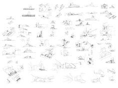 Alejandro Aravena, sketches.