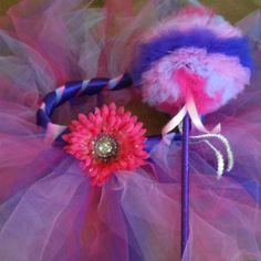 DIY tutu and matching fairy princess wand