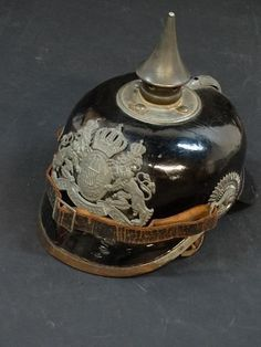 Original WWI German/Bavarian Picklehaube Spiked Helmet
