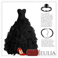 """""""Lady in black"""" by mell-2405 ❤ liked on Polyvore featuring Alice + Olivia, women's clothing, women's fashion, women, female, woman, misses and juniors"""