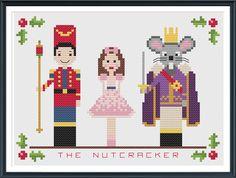 The Nutcracker Cross Stitch Pattern Instant Download