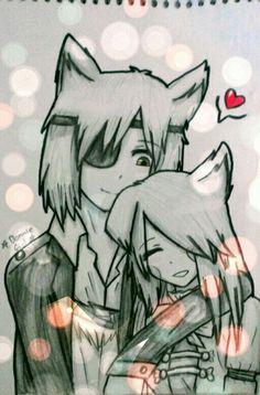 Fangle ♡ Desenho feito por mim :3