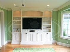 Custom Offices & Den   Woods Cabinets, LLC   Charleston, SC   Woods Cabinets