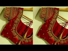 Simple work in normal needle stitch same like aari New Saree Blouse Designs, Cutwork Blouse Designs, Simple Blouse Designs, Stylish Blouse Design, Bridal Blouse Designs, Girls Frock Design, Long Dress Design, Designer Blouse Patterns, Design Patterns