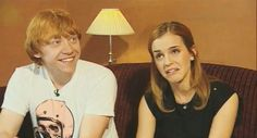 Emma and Rupert, how was it sharing an on screen kiss? - Imgur