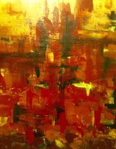 'City Heat', Mary Arkless, acrylic