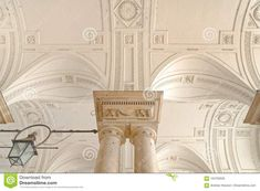 Detailed Arch And Column Decoration, Sommerset House, London Stock Image - Image of above, built: 104702635