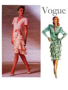 1980s Vintage Bellville Sassoon Vogue 1891 by DesignRewindFashions, $20.00