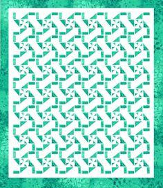Lets Quilt Something: Frozen Lake - Free Pattern - Batiks - Layer Cake o...