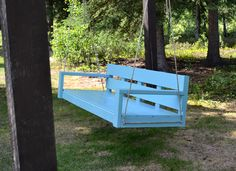Large Modern Porch Swing or Bench.  Free step by step DIY plans from Ana-White.com #Plan